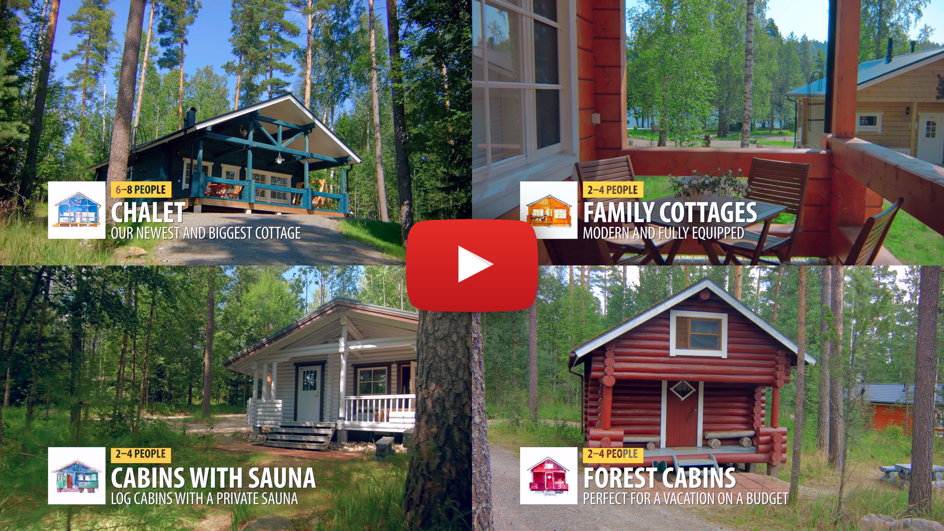 Check out a video about our cottages.