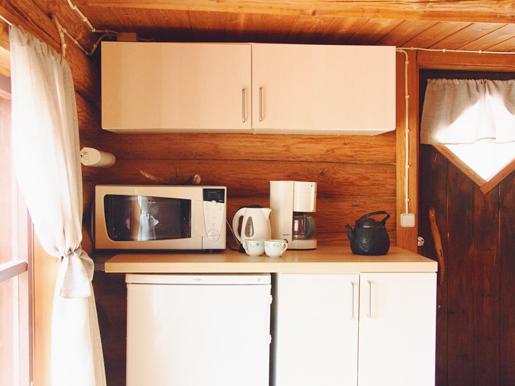 Small kitchenette.